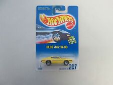 1992 Hot Wheels Olds 442 W-30 7 SPK chrome base variation
