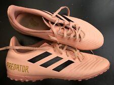 ADIDAS PREDATOR MENS UK 9 EU 43 PINK FOOTBALL TRAINERS RUNNING SHOES BOOTS
