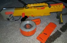 Nerf Gun Longshot CS-6 Gun N-Strike Gun Sniper Rifle with 18 and rounder clip!