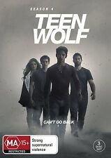 TEEN WOLF - SEASON 4 - Official PAL DVD - UK Compatible - New & sealed