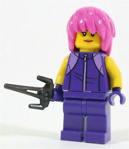 LEGO NINJAGO ELEMENTAL MASTER CHAMILLE MINIFIGURE FORM - MADE OF GENUINE LEGO
