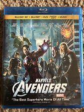 The Avengers 3D (Blu-ray & 3D, 2-Discs) Marvel MCU Thor Hulk Iron Man Captain Am