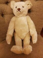 Steiff bear - 407123 - 1921 Replica - 40cm - White mohair - Limited Edition 1996