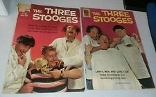 Four Color #1127 & #6 The Three Stooges dell comics lot run set movie collection
