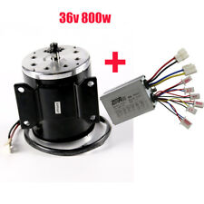 800W 36V electric motor MY1020 kit w base speed control for scooter E-Bike Cart