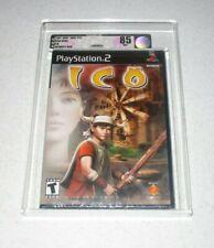 "Ico Playstation 2 ""Black Label"" VGA 85 NM+ Sealed Unopened"
