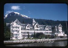 1950s red border Kodachrome Photo slide kviknes hotel Balestrand Norway