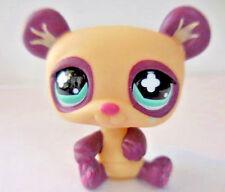 Little Pet Shop Lps Purple Cream Panda Green Eyes