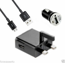Caricabatterie e docking station neri con micro USB per cellulari e palmari HTC