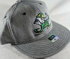 LZ Adidas Adult Fitted S/M Notre Dame Fighting Irish Baseball Hat Cap NEW D42