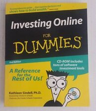 Investing Online for Dummies by Kathleen Sindell 2nd Edition with CD ROM