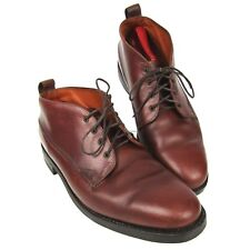 bda508df12c9 VTG Willis   Geiger Ankle Boots Brown Leather Men s Size 12 Safari Hiking  Trail