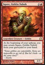 MRM ENGLISH skwi, nabab gobelin - Squee, Goblin Nabob MTG magic MM1