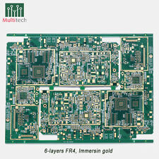 PCB Prototype 4 Layers 6L FR4 PCB Manufacture Etching Fabrication High Quality