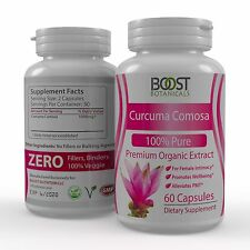 Curcuma Comosa ORGANIC INTIMATE TIGHTENING FEMALE HEALTH SUPPLEMENT 60 Capsules