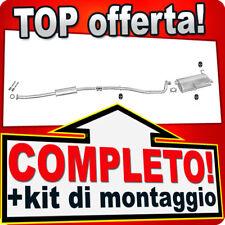 Scarico Completo PEUGEOT 206 1.1 1.4 1.6 Familiare SW Marmitta 412