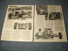 1984 Vintage Profile Article on Jazzy Jim Nelson and his Flat-Head Powered Fiat