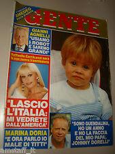 GENTE=1985/23=GIANFRANCO FERRONI=OSIO SOTTO=MARIO SIRONI=MYRTIS BARBIERI=ARBORE=