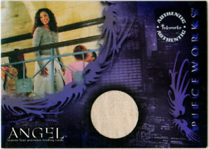 Angel S4 Pieceworks PW4 Gina Torres as Jasmine Pants Inkworks Trading Card 2003