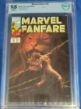 Marvel Fanfare #58 CBCS 9.8 Shanna Cover Scarlet Witch Story white pages not cgc