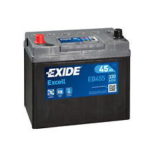 1x Exide Excell 45Ah 300CCA 12v Type 043 Car Battery 3 Year Warranty - EB455