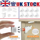 Invisible Magnetic Baby Child Locks Pet Proof Cupboard Drawer Safety Lock Catch
