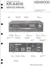 Kenwood Original Service Manual für KR- A 4010