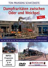 DVD Ton Pruissens Schatzkiste Dampfraritäten zwischen Oder und Weichsel - Teil 1