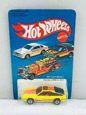 Hot Wheels Blackwall PONTIAC J 2000 Yellow #3917 NEW ON CARD BLISTER BP