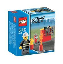 Lego City 5613 bombero + accesorios muy raro OVP viejo liquidación set