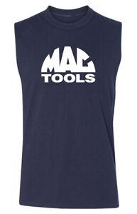 Mac Tools SLEEVELESS T-shirt - Mechanics Automotive Parts Racing Garage