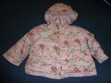 ME TOO Baby Giacca Invernale Bambina, rosa floreale gr. 68-. 86
