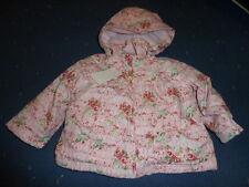 ME TOO  Baby Mädchen Winterjacke, rosa geblümt  gr.68- 86
