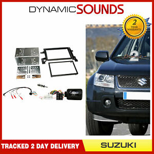 CTKSZ01 Double Din Fascia Steering Antenna Fitting Kit For Suzuki Grand Vitara