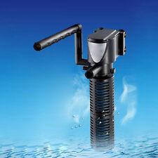 Acuario Filtro Interno Mini 3 in 1 multiusos Bomba de Agua Filtros 3w/5w