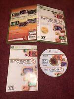 Xbox Live Arcade Unplugged Vol. 1 Microsoft Xbox 360 Complete CIB-TESTED & VGC!