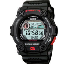 Casio G-Shock Digital Mens Black Moon Tide Graph Watch G-7900-1 G-7900-1DR