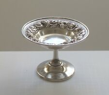 Antique Stieff Repousse Sterling Silver Compote, #126, 155 Grams