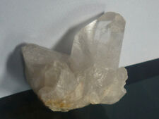 cristalloterapia DRUSA DI QUARZO IALINO punta minerale cristallo rocca terra geo