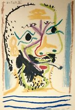 Pablo Picasso, The Taste of Happiness, Hand Signed Lithograph 20/50
