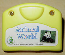 Leap Frog Little Touch Cartridge Only: Animal World VGUC