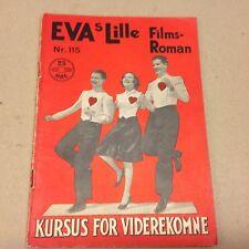 "Three Cheers for Love Whitney Vtg 1936 Danish Movie Novel ""EVA Lille Film Roman"""