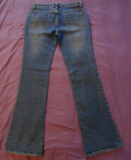 Wet Seal size 9L long denim blue jeans boot cut flare stretch
