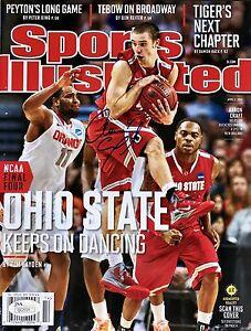 Aaron Craft Signed (April 2nd 2012) NL Sports Illustrated SI Magazine JSA