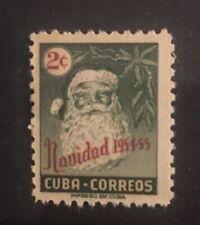 Xmas Gift 2c Navidad 1954-55 Christmas Stamp Mnh Memorabilia Collection