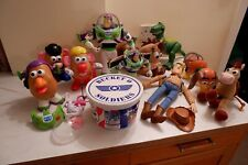 Toy Story Toy Bundle, Slinky Dog, Potato Head, Bullseye