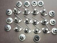 Chevy fender door hood quarter moulding clips sealer nuts 1/2 - 5/8 NORS 12pc