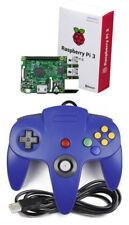 Fo Nintendo 64 n64 juego de control analógico Pad para Retropie Frambuesa Pi3 Pc Mac