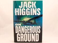LIKE NEW! On Dangerous Ground, Jack Higgins HC