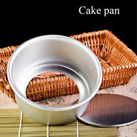 4/6inch Cake Pan Removable Bottom Aluminum Alloy Pudding Mold Baking Tools Hot